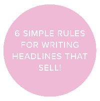 6 simple rules for writing headlines that sell